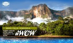 Adventure enthusiasts will love a trip to the mind-blowing Angel Falls. Here, besides trekking, taking dips in the lakes and naps in hammocks, you can also witness a sky-diving experience like no other! #WorldOfWaterfalls #travel #CnK