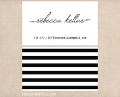 simple business cards, minimal business cards, elegant simple business cards, black and white business cards