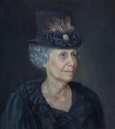Portrait of Lady  by Oleg Radvan   Oil 18 x 16