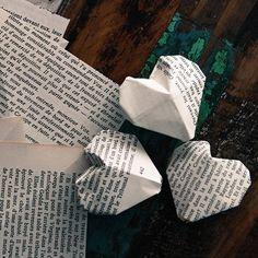 DIY - Des petits coeurs en papier