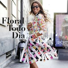 Street style all floral
