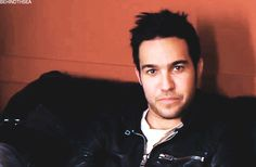 Lol. Pete can't wink. It's cute>>> that was still sexy as hell