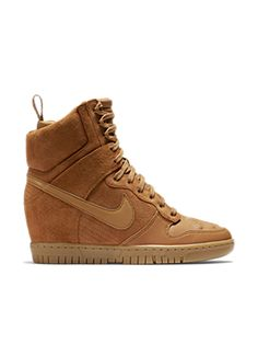 The Nike Dunk Sky Hi SneakerBoot Women's SneakerBoot.