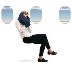 A travel pillow that provides the perfect balance of softness and support for your entire journey. Travel well rested and wake up refreshed.