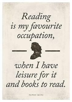 Anne Brontë's Agnes Grey - Medium literary quote print, reading quote, literature poster, bookish gift, librarian gift, digital download