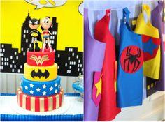 Nicole Henriques : Superhero {party ideas for kids}   Boys