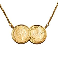 Premium Gold Coin Necklace <3  http://www.lilywho.ie/brands/jewellery-brands/sparkling-jewellery/premium-two-coin-gold-6662.html