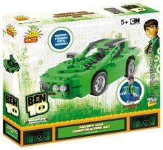 BEN 10 Kevinovo auto BEN 10 je animovaný seriál z dílny Cartoon Network o klukovi, který má speciální hodinky Omnitrix (nazývané též Ultimatrix). Ty mu umožňují proměnit se v příšery Big Chill, Echo Echo, Humungosaur, Spidermonkey a další. Ben 10 ...