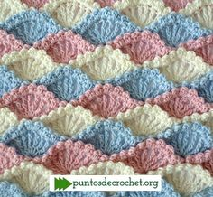 Punto Crochet Conchita Shell