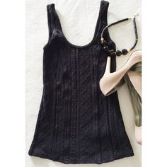 NWOT Free People Black Cami RARE Brand new! Black faux corset style top. Material has stretch to it and this would fit a size xs or small. Free People Tops Camisoles