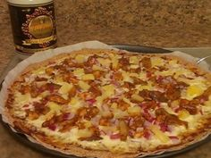 Tropical BBQ Pizza with Coconut Oil Giveaway