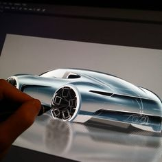 """Porsche in progress..... #carsketch #automotive #automotivedesign #car #cars…"