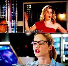 BOOM! :) Felicity Smoak #Arrow