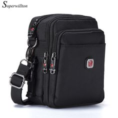 6851748f5 Soperwillton Brand Men's Bag Messenger Bags Wateproof High Quality Oxford  1680D Zipper Bag Crossbody For Male DropShipping #1052