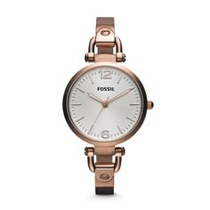 Fossil - Montre Georgia doré rose