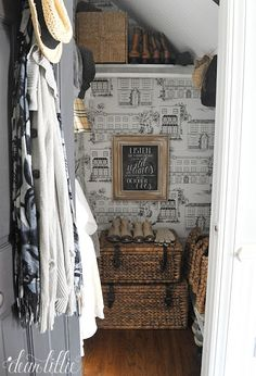 Our Entryway Closet  by Dear Lillie