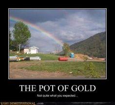 Porta Potty of Gold