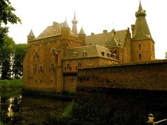Doorwerth Castle is a medieval castle situated on the river Rhine near the city of Arnhem, Netherlands.