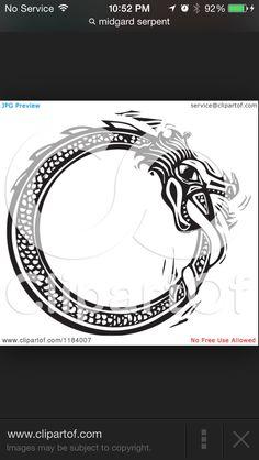 Midgard serpent or jörmundgandr