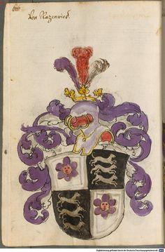 Scheibler'sches Wappenbuch Süddeutschland, um 1450 - 17. Jh. Cod.icon. 312 c Folio 626