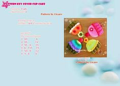 KeyCover Cup Cake1/2
