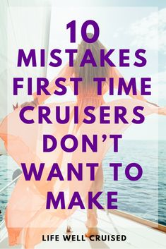 New to cruising? Make sure to plan and avoid these common mistakes new cruisers make amd regret. Here are some cruise tips and tricks to help you in planning your first cruise vacation! #cruiseplanning #cruisefirsttime #cruisetips #cruises #cruisetravelhacks Cruise Port, Cruise Travel, Cruise Vacation, Cruise First Time, How To Book A Cruise, Packing List For Cruise, Cruise Tips, Best Cruise Ships, Cruise Reviews