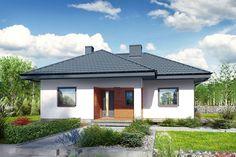 Dom w kosztelach Bungalow, Gazebo, House Plans, Shed, Exterior, Outdoor Structures, Architecture, Outdoor Decor, Home Decor