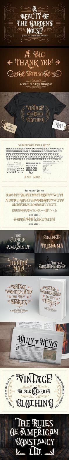 Arthouse. Display Fonts