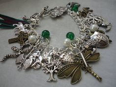 Outlander Series Themed Charm Bracelet by LunaSparksBoutique, $65.00