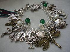 Outlander Series Themed Charm Bracelet by LunaSparksBoutique, $65.00