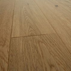 Home Choice Natural 125mm Hand Distressed Lacquered Oak Flooring - Solid Wood Flooring