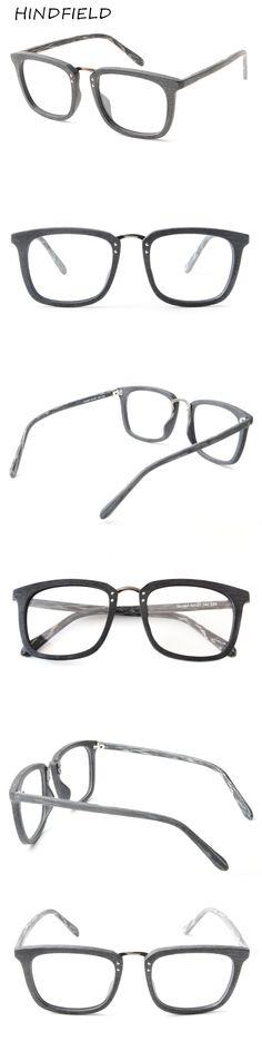 HINDFIELD 2017 New Eyeglasses Men Women Suqare Brand Designer Eyeglasses Frame Optical Computer Eye Glasses Frame oculos de grau