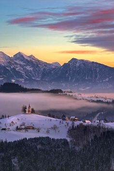 Kamnik Alps and Savinja in Slovenia