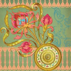 Baroque Pattern, Pattern Art, Line Patterns, Embroidery Patterns, Paisley Wallpaper, Mc Escher, Decorative Borders, New Theme, Botanical Art