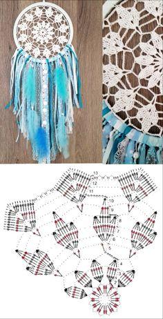 Crochet Patterns Filet, Crochet Mandala Pattern, Crochet Motifs, Crochet Diagram, Doily Patterns, Macrame Patterns, Crochet Doilies, Crochet Books, Diy Crochet
