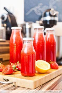 Erdbeer-Sirup   lecker macht laune