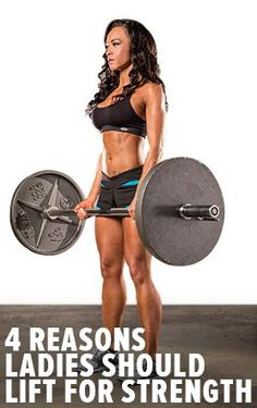 4 Reasons To Train For Strength. Discover How Strength Gains Can Have Huge Impacts On A Woman's Mind And Body. Bodybuilding.com