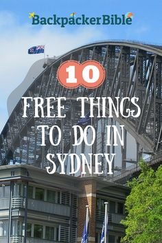 The secret's out! 10 FREE things to do in Sydney as told by a Sydneysider. Enjoy!