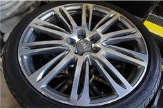 "Used 20"" A7 wheels with Yokohama tires"
