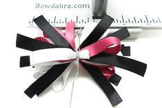 Hair Bow Tutorial- Pink and Black Hair Bows 14 (1)