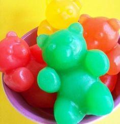 Fruity Bear Gummy Soap