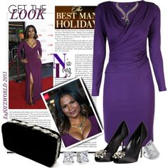 """""""GET The LOOK: Ms Nia Long"""" by enjoyzworld on Polyvore"""