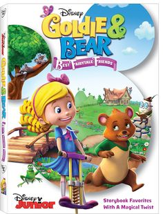 Goldie And Bear Best Fairytale Friends DVD