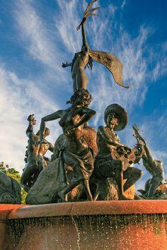 La Princessa Fountain in Old San Juan Puerto Rico - photo taken by Michelle Ng-Reyes