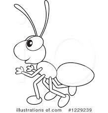 Image Result For Ant Drawing Easy Fish Coloring Page Coloring Pages