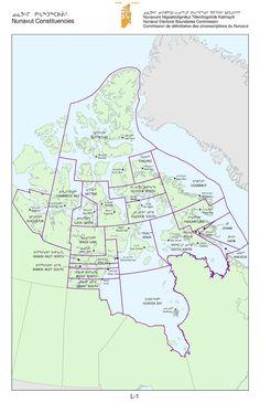 Nunavut legislative assembly electoral constituencies