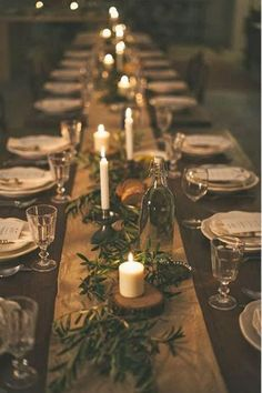 Here are the Rustic Christmas Table Settings Ideas. This article about Rustic Christmas Table Settings Ideas was posted under the … Christmas Table Centerpieces, Christmas Table Settings, Christmas Party Decorations, Wedding Table Settings, Wedding Table Centerpieces, Holiday Tablescape, Wedding Decorations, Christmas Party Table, Christmas Candle