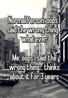 Three? I think about things from 20 years ago. #introvert #introvertlife #introvertproblems