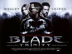 The best one of the Blade movies!