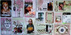 Week 22- Using BoBunny Primrose Collection - Scrapbook.com